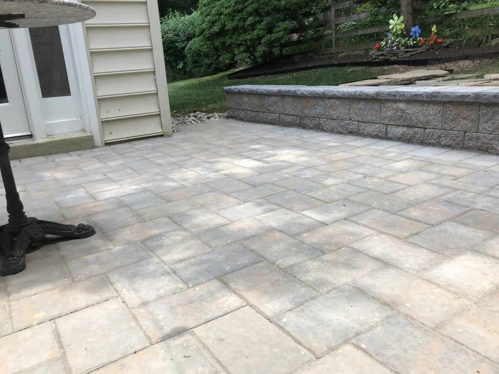 hardscaping patio