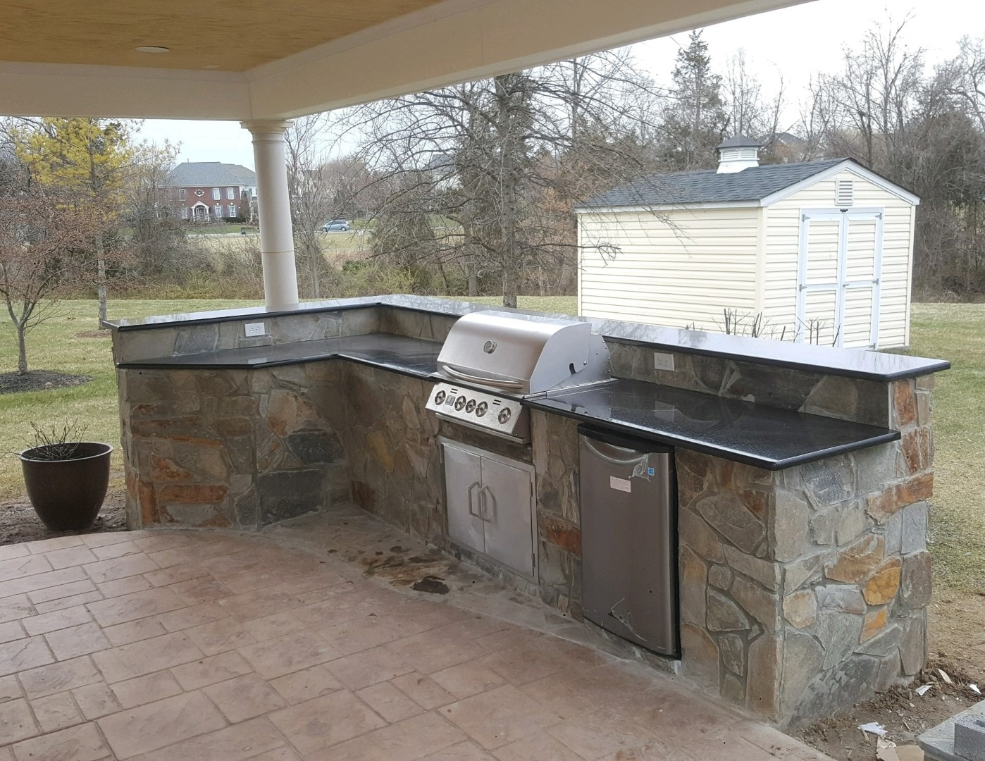 Hardscaping Grill