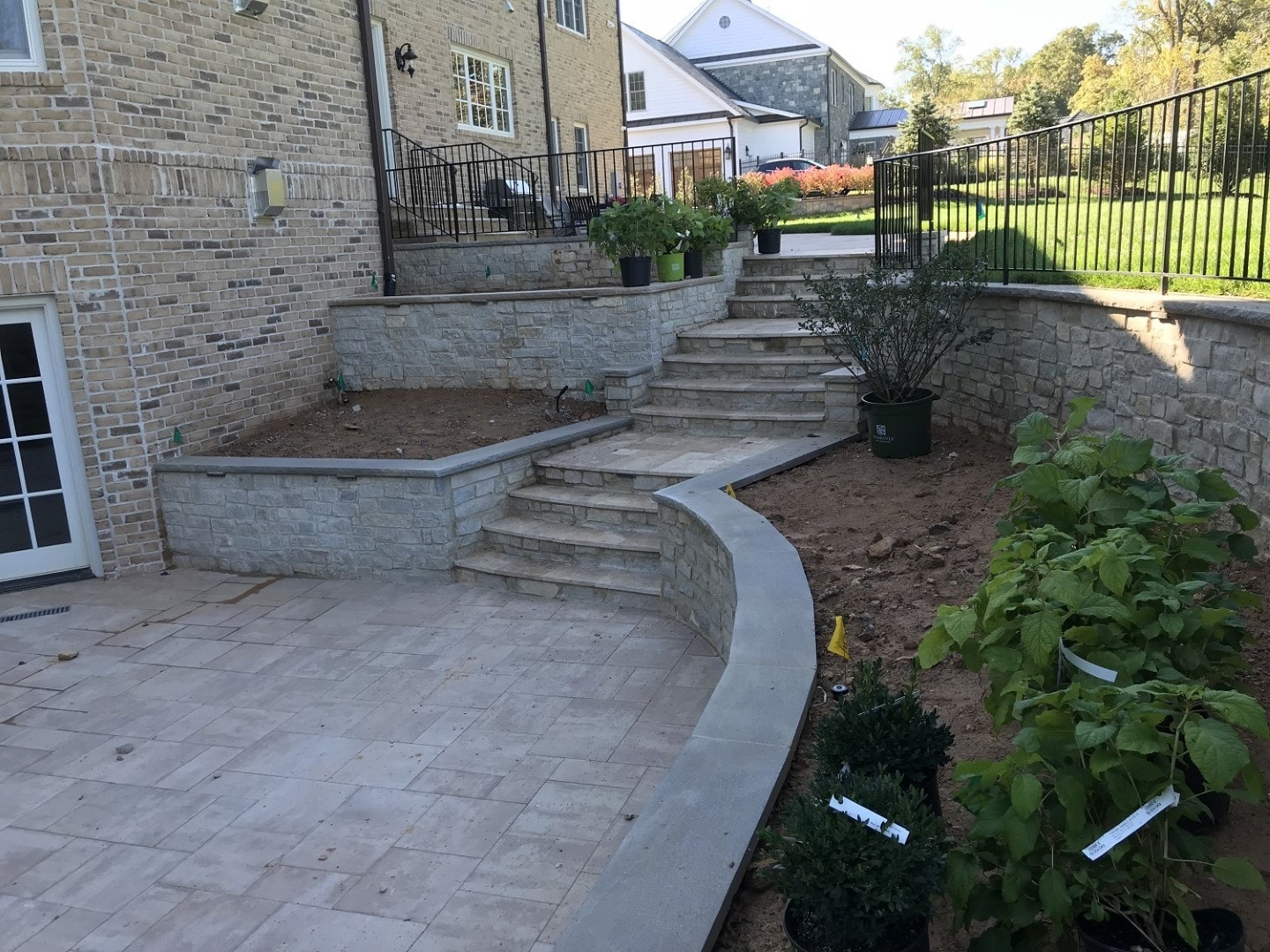 Hardscaping Patio & Steps
