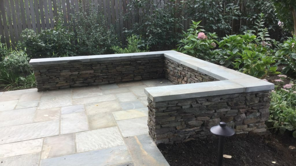 Hardscaping Wall Installation