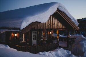 Winter Patio